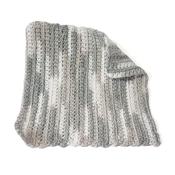 torchon lavette tricot coton