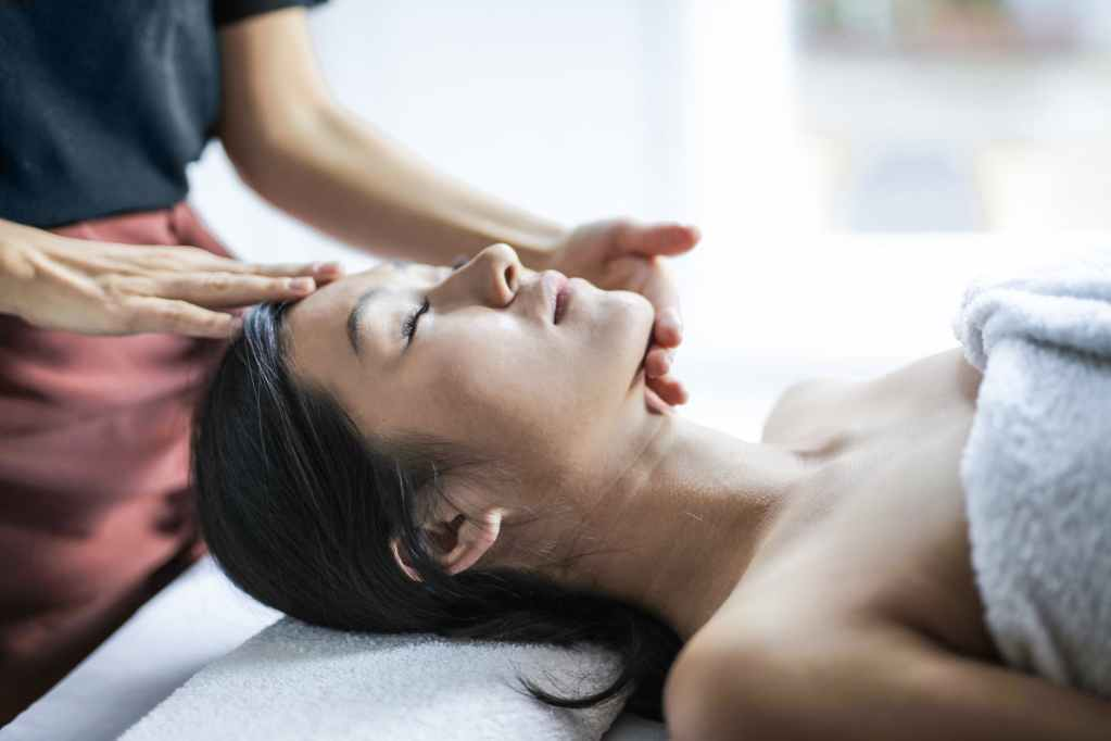Massage Indien du crâne