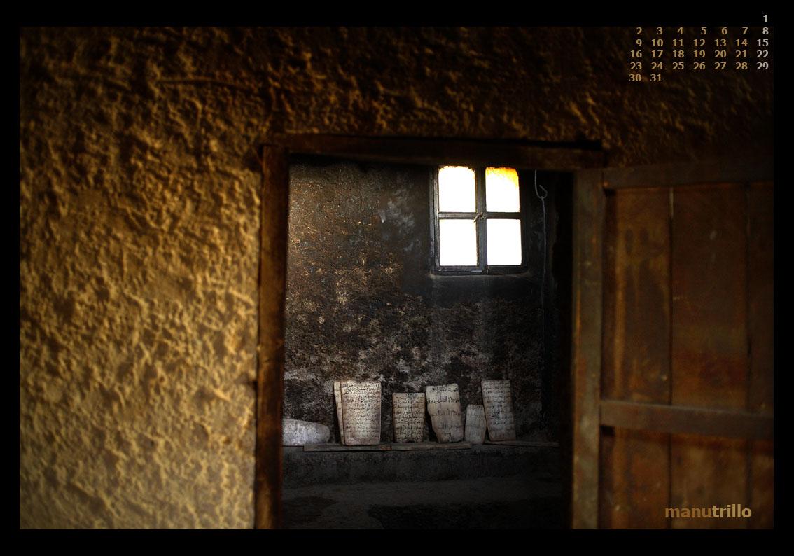 Mezquita del pequeño pueblo de Asilan, en la provincia de Chefchaouen. Parque Nacional de Talassemtane. Fotografía perteneciente al reportaje de la Reserva de la Biosfera Andalucía-Marruecos, serie: Territorio Pinsapo.