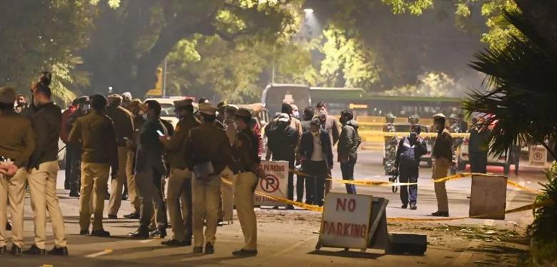 दिल्ली में इजरायल दूतावास के पास धमाके के बाद देश