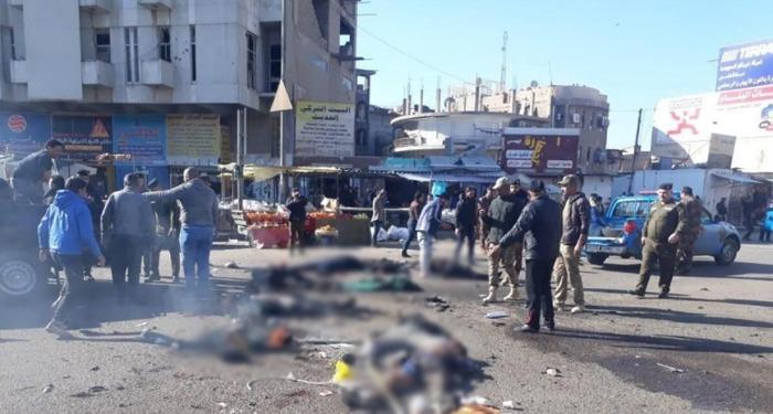 बग़दाद के केंद्रीय बाज़ार में हुए धमाके में अब तक