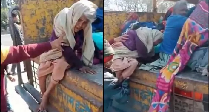 शिवराज सरकार में इंदौर प्रशासन के अमानवीय कृत ने किया मनवता को शर्मसार