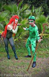 Poison Ivy Enigmista Cosplay