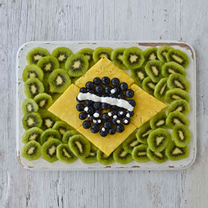 Healthy world cup snacks