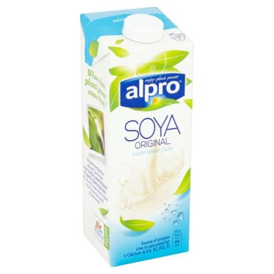 Alpro Soya - guide to milk alternatives