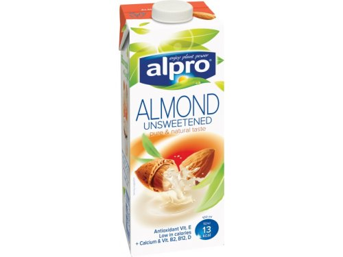 Alpro almond milk - guide to milk alternatives