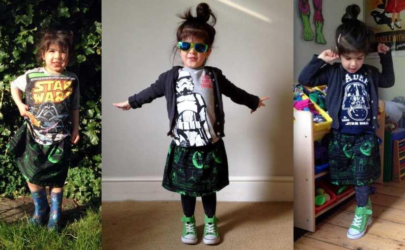 Star Wars skirt, Star Wars girls skirt, star wars clothing for girls, Star Wars skirt for girls
