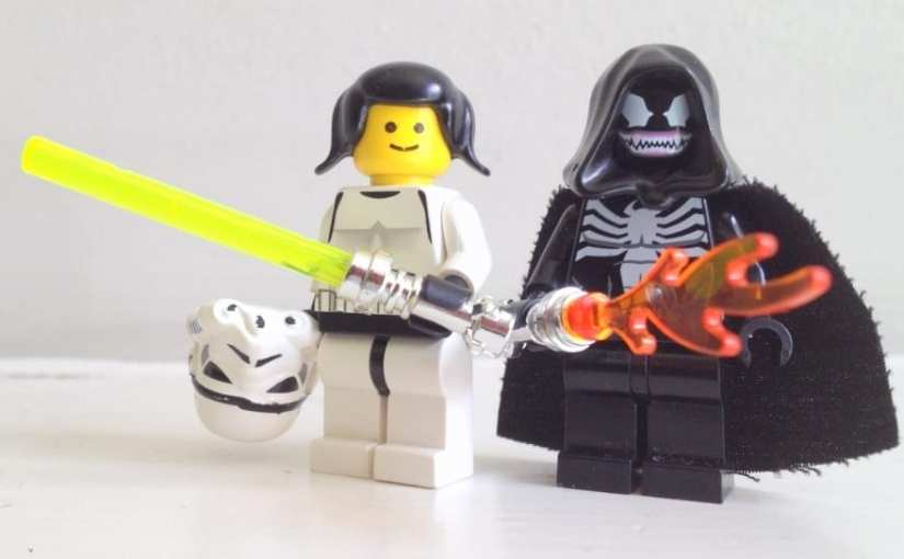 Lego, Star Wars, Princess Leia LEGO female minifig,
