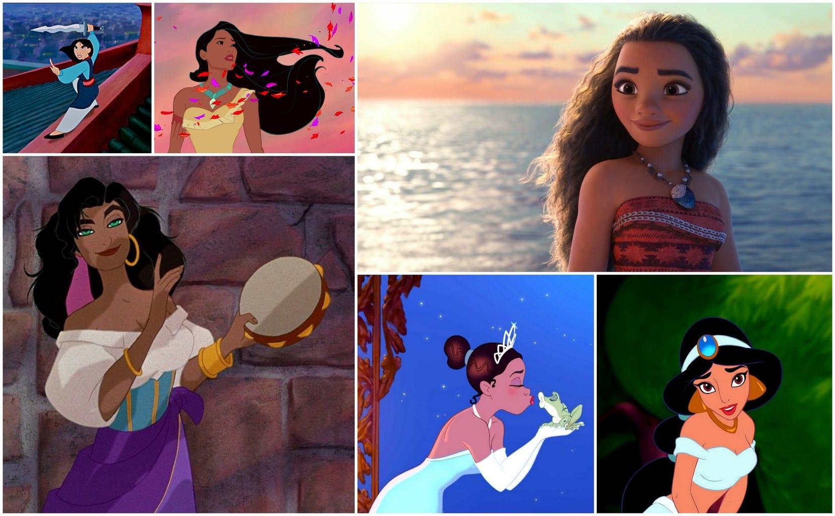 Celebrating Disney Princesses Of Colour