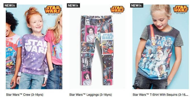 star wars clothes for girls, star wars for girls