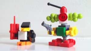 Batman, Robin, Beast Boy, Starfire, The Penguin, The Joker, Poison Ivy, Harley Quinn, LEGO, minifigs, minifigures,