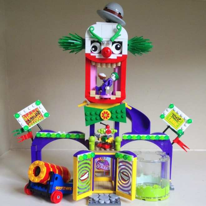 And of course, the Joker's 'Jokerland' (with the 'Toxic Tank').