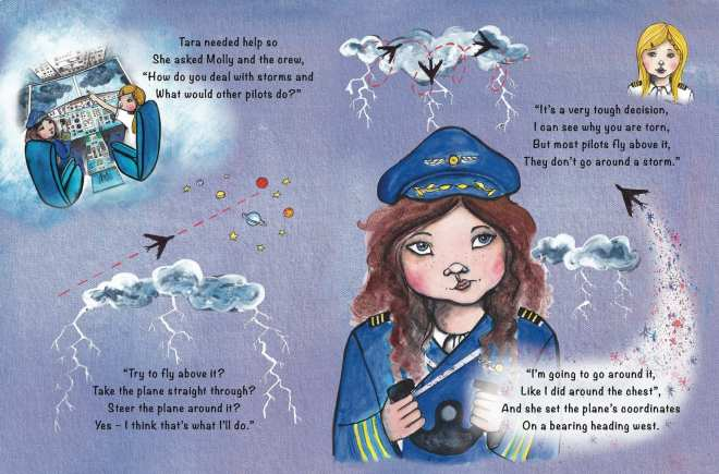 Books that empower little girls, Tara Binns, female pilot, girl pilot