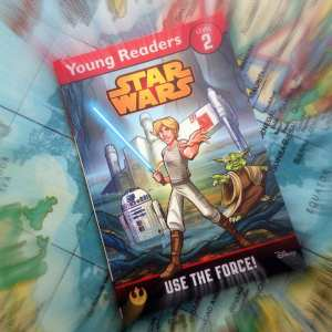 Use the force, star wars for kids, early reader