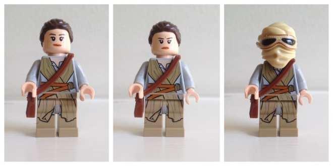 Rey LEGO Star Wars minifigure