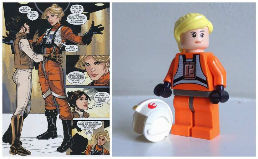 Female Star Wars Characters , Evaan Princess Leia comic, Evaan LEGO