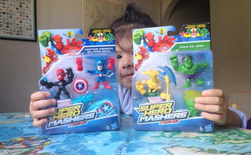 Toy Review: Marvel Super Hero Micro Mashers