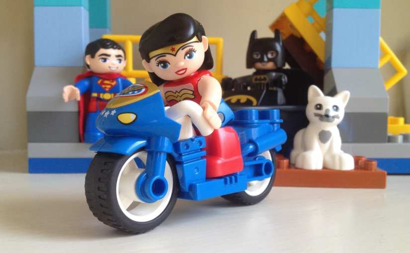 LEGO Duplo Batman Adventure, featuring Wonder Woman and Superman