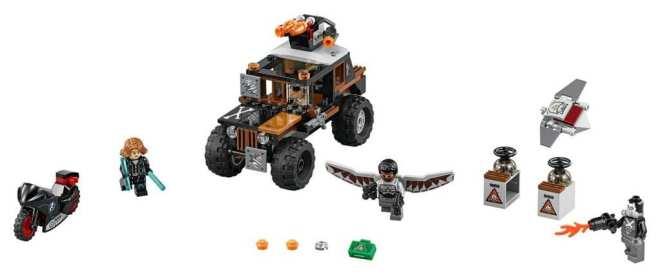 LEGO Marvel Super Heroes Crossbones' Hazard Heist Set Review packshot 76050