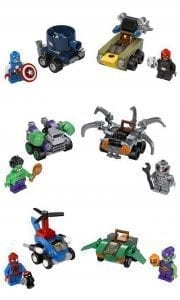 LEGO Marvel Super Heroes Mighty Micros sets