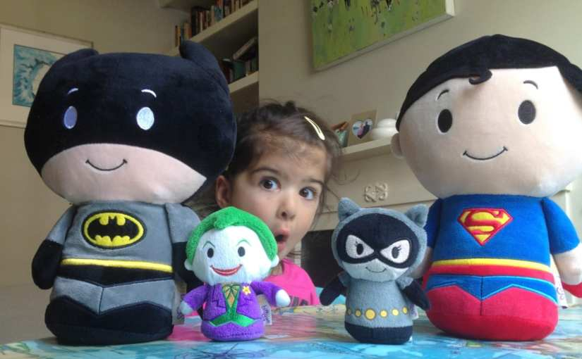 Hallmark's DC Superheroes Itty Bittys