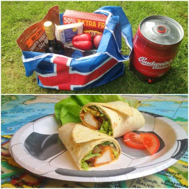 While Mum's at Work, Dad's Gone to Iceland Chicken Fajita Football Feast #PowerofFrozen packshot