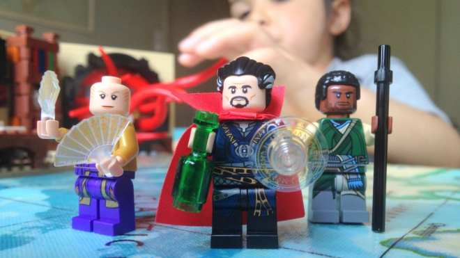 LEGO Marvel Super Heroes Doctor Strange's Sanctum Sanctorum review 76060 Doctor Strange Karl Mordo The Ancient One