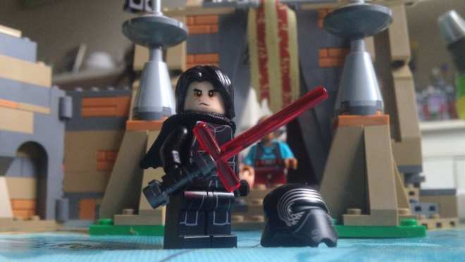 LEGO Star Wars- Battle on Takodana (75139) Kylo Ren without helmet