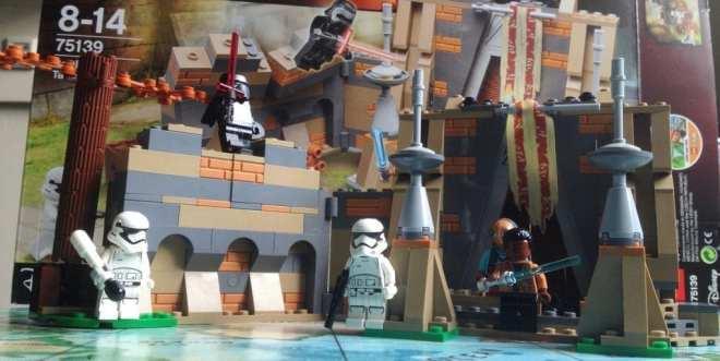 LEGO Star Wars- Battle on Takodana (75139) packshot