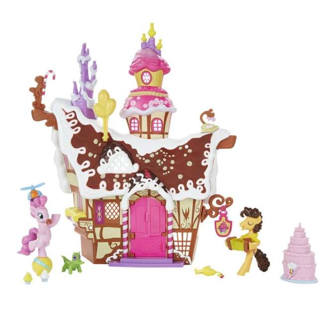 MLP Friendship is Magic Sugarcube Corner Sweet Shoppe with Pinkie Pie and Cheese Sandwich