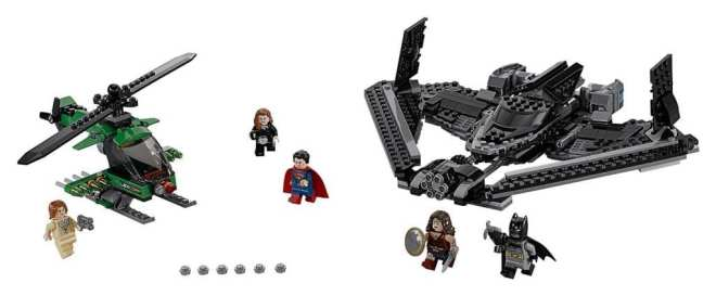 LEGO DC Heroes of Justice Sky High Battle (76046) packshot