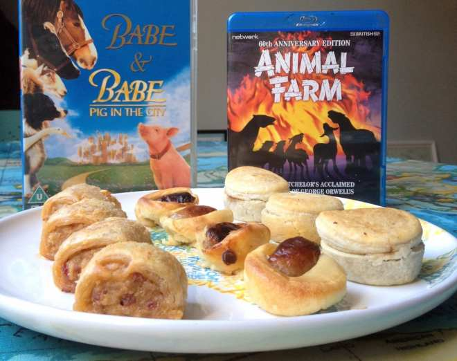 babe-animal-farm-bacon-pie-sausage-roll-toad-in-the-hole