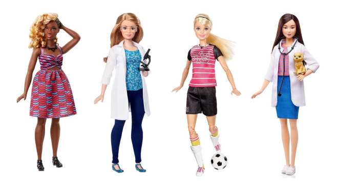 Diverse Barbie dolls, Dads Who Play Barbie