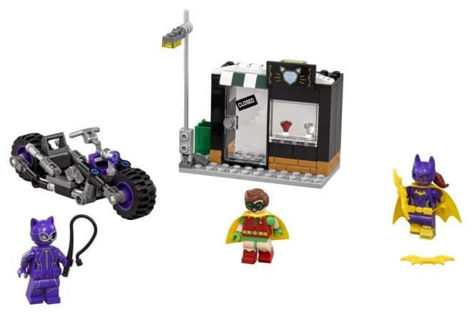 LEGO Batman Catwoman Catcycle Chase Building Toy