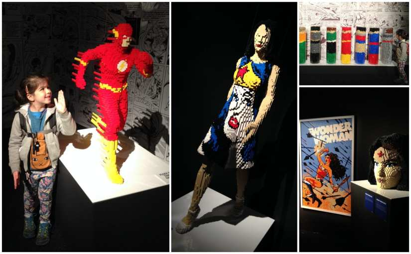 The Art of the Brick- DC Super Heroes review