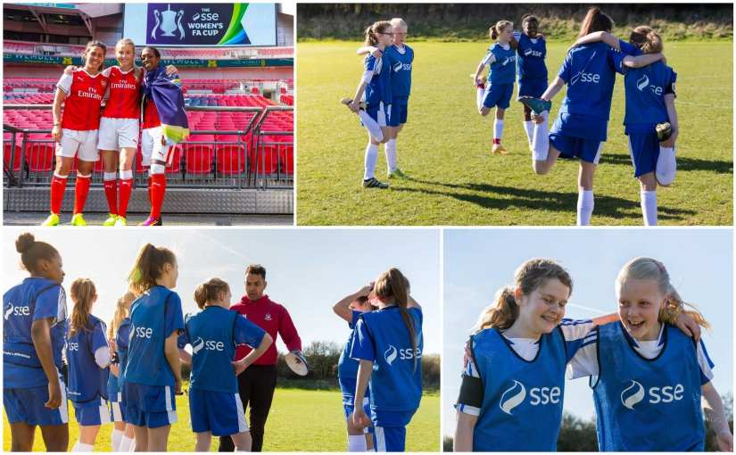 The Women's FA Cup and beyond: Empowering girls with football