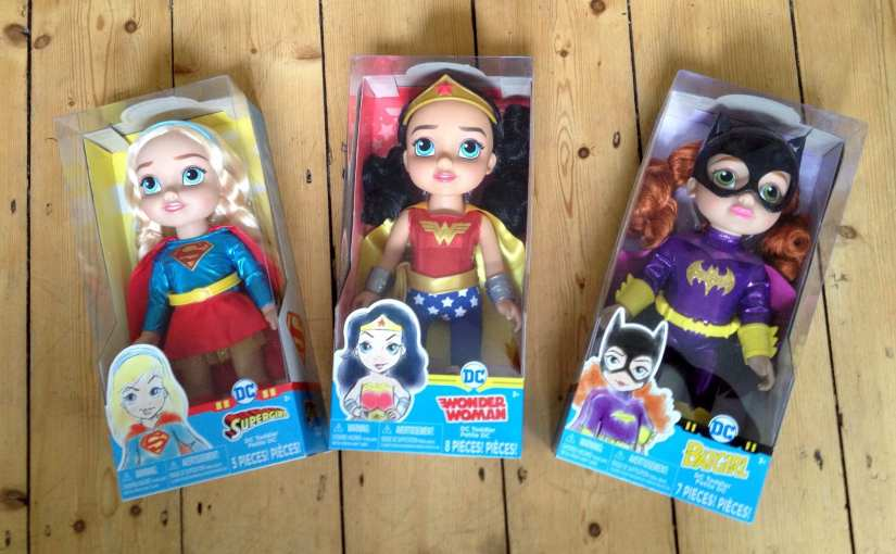 DC Super Hero Girls toddler dolls review