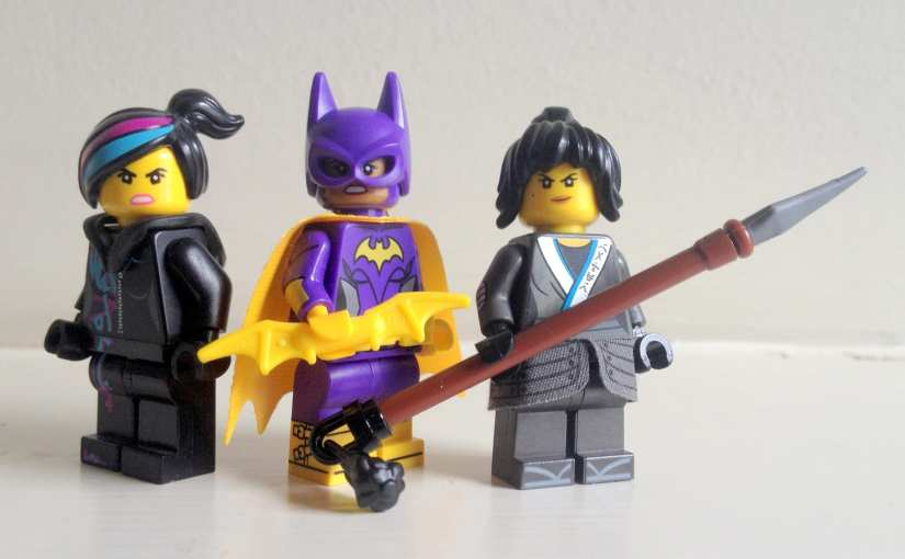lego movies female characters, strong female characters, trinity syndrome, LEGO female movie characters