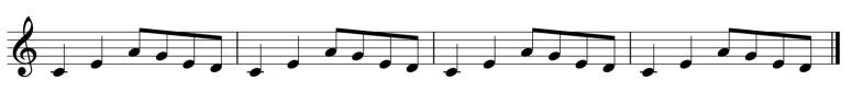 Melodic Ostinato 1