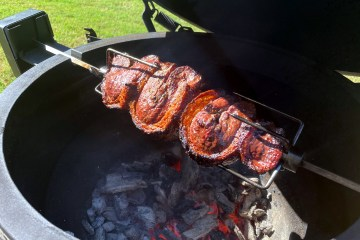Picanha on the Big Green Egg