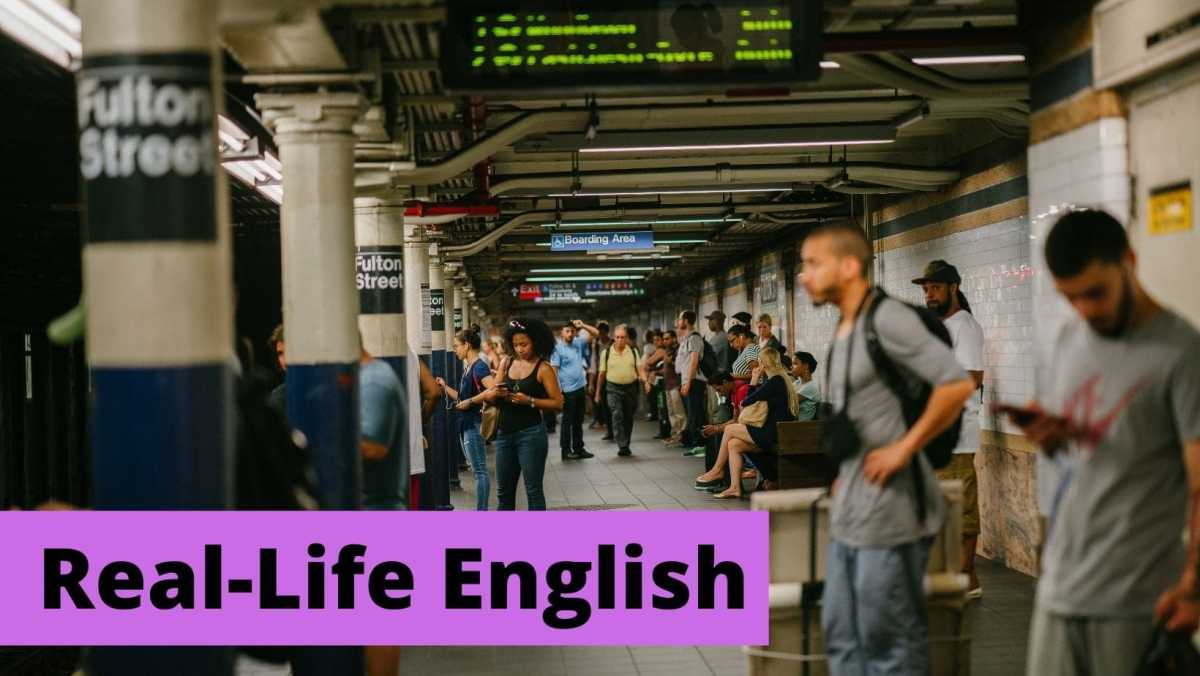 How to Study English by Watching Movies real-life English