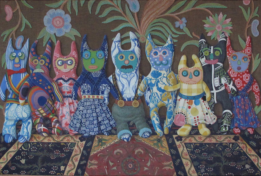 """The Creatures  45"""" x 36"""" (1520 x 1020mm)"""