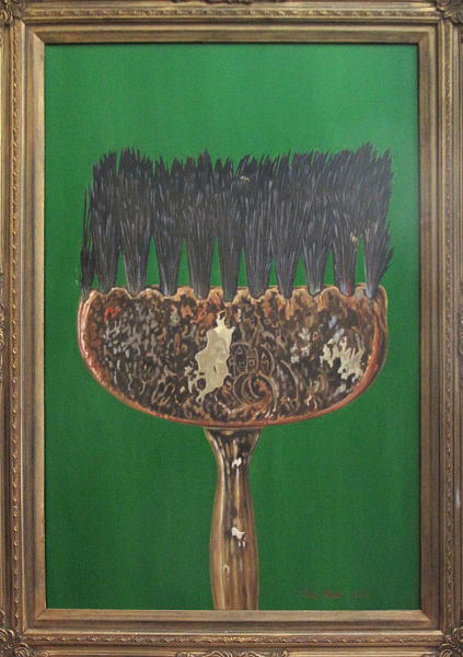 "The Paintbrush - Emerald 29"" x 20"" (740 x 510mm)"