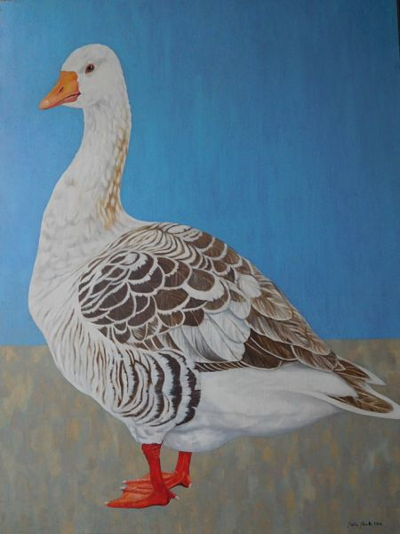 "Ridley's Goose - Oil on Canvas 48"" x 30"""