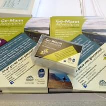 Go-Mann Adventures Promo Material