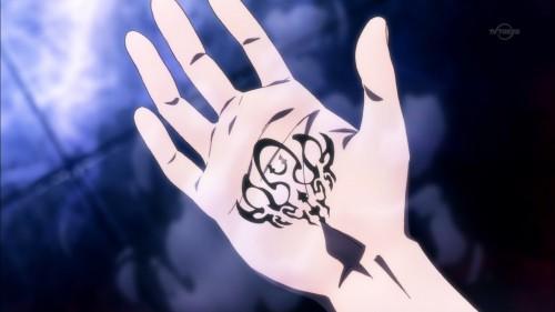 呪紋が刻まれたセーギ