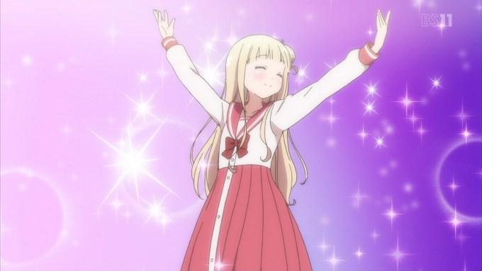 踊る柊真雪(ひなこのーと4話画像)