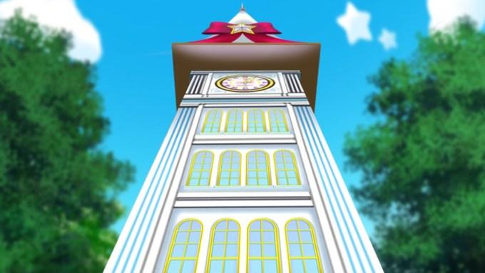 時計塔(アイドルタイムプリパラ5話画像)