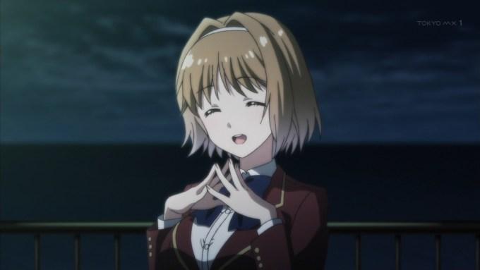 笑顔の櫛田桔梗