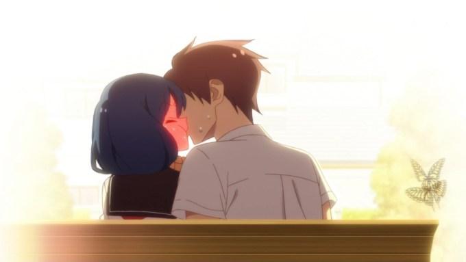 剛田武と上根綾香のキス